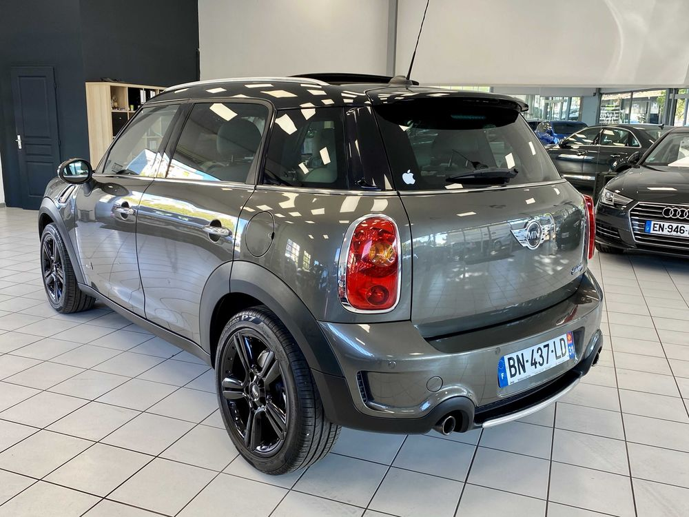 Mini Countryman 184 ch ALL4 Cooper S Pack Red Hot Chili